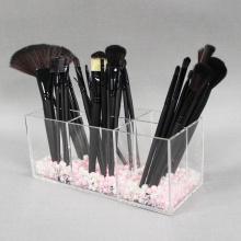 Organizador de escova de maquiagem acrílica para atacado