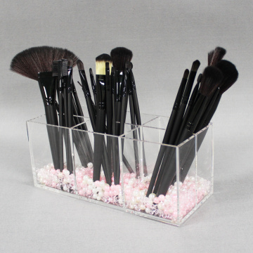 Groothandel acryl make-up kwast Organizer