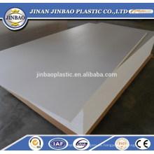 material de construcción PVC fuerte tablero ligero