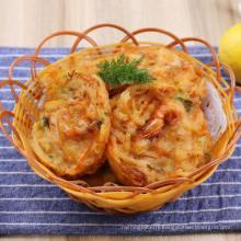 Prepared Fried Shrimp Cake, Shrimp Pie, Seafood