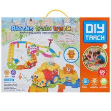 Boy Gift Plastic Blocks brinquedo brinquedo educativo Track Track