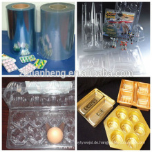 Food Blister Verpackung Starre Clear Thermoforming Kunststofffolie PVC