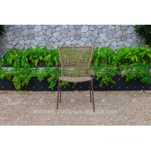 2017 Absolutely Typical Coffee Dining Chair Poly PE Rattan Wicker Furniture