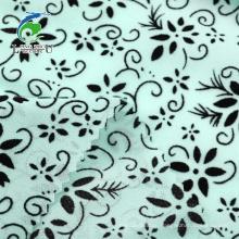 100D Flocked Chiffon Fabric