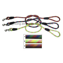 Dog Leash with Colorful Nylon Round Leash Strap Dp-Cn1271