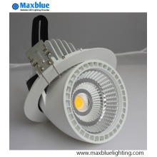 Hole 100mm Small LED Trunk techo Downlight 12W