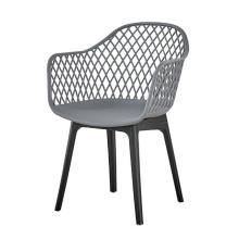 Chaises de salle à manger en plastique de style moderne de l'Europe américaine