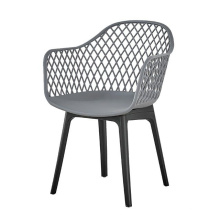 American Europe Modern Style Plastic Dining Chairs