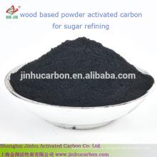 Aktivkohlepulver auf Holzbasis für die Zuckerindustrie