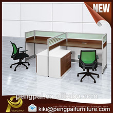 Two seater regular workstation with grass