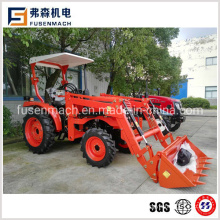 25HP 4 Wd Wheel Tractor with Shuttle Shift