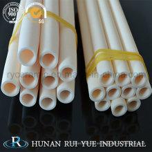 99,7 tubo de cerámica de alúmina % / varilla 1800 grados C