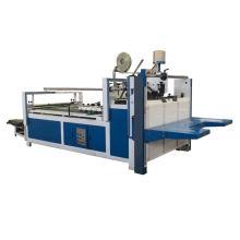 corrugated cardboard semi-automatic folder gluing machine