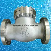 600 фунтов стерлингов Запорный клапан с фланцем из нержавеющей стали CF3m