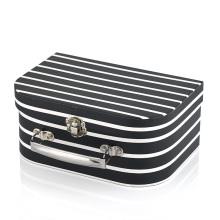 DIY design kids portable toy  box color storage suitcase