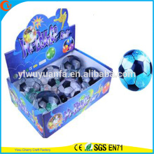 Juguete de alta Qulity Kid LED de goma de 85 mm de fútbol de agua intermitente Bouncy Ball