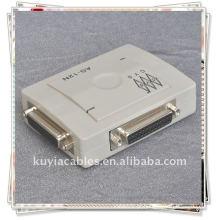 Caixa de comutação de compartilhamento de impressora paralela DB-25