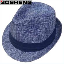 Forme a invierno los hombres calientes Fedora Felt Hat Venta al por mayor