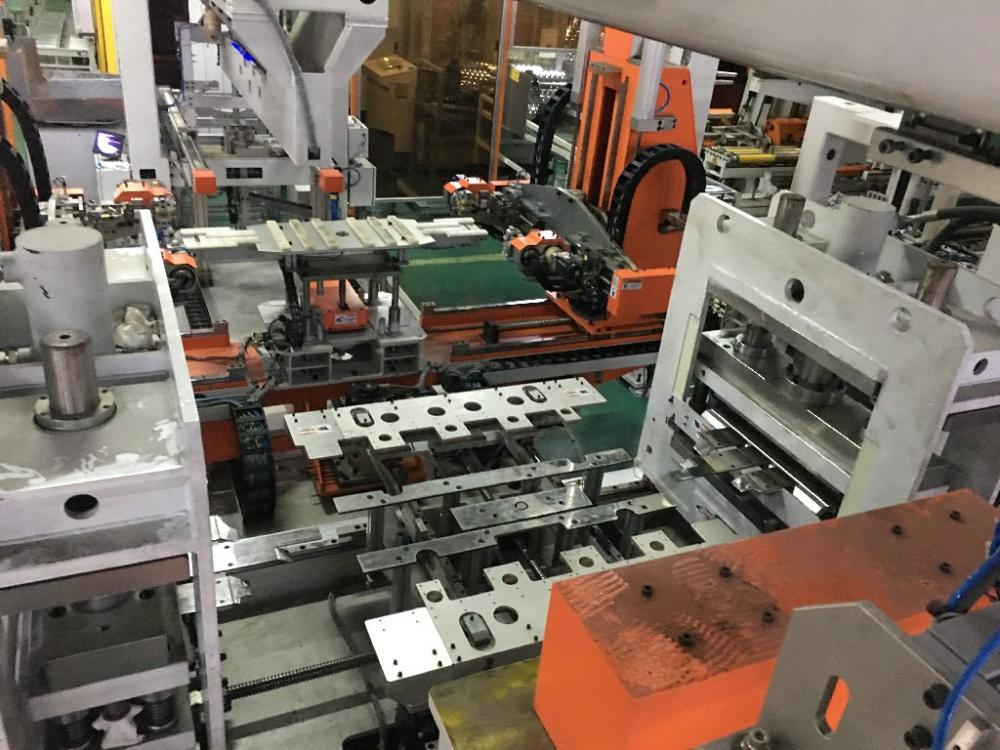 Laser Welding Line For Wm Basket Manipulator