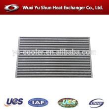 Hochleistungs-Aluminium-kundenspezifischen Kühler Typ Intercooler Kern Hersteller