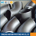 Long Radius 321 acero inoxidable codo B16.28