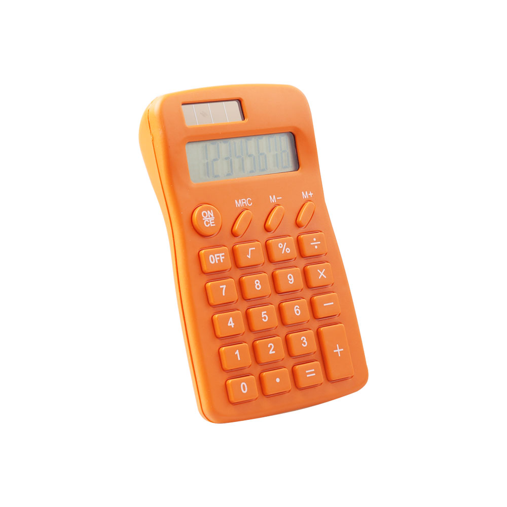 Dual Power 8 Digits Small Size Desktop Calculator