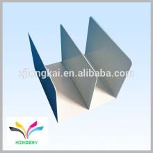 Heißer Verkaufsqualitätsstarker schwarzer Puder beschichtete Tischplattenmetallbuch-Ausstellungsstand