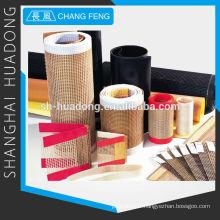 Bande transporteuse PTFE en fibre de verre tissu
