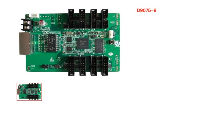 Receiving Card For Led Display Screen D9075 8