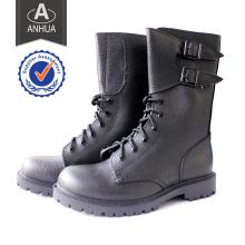 Alta qualidade militar cow couro botas