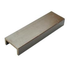 Materiais plásticos de madeira / material de paisagem WPC 63 * 29