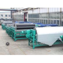 Separador magnético molhado do equipamento de mineração para o processamento mineral