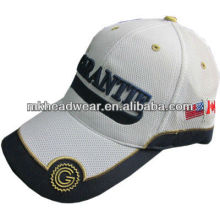 men character full mesh cap with 3d embroidery made in nanjing