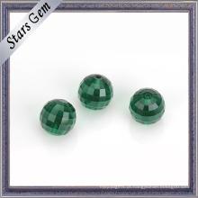 Preço de fábrica Squar Checker Cut Crystal Glass Beads