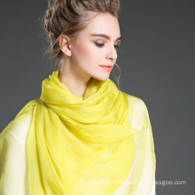 Plain Color Silk Scarves in Summer