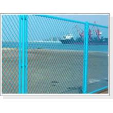 Venda quente de alta qualidade de vinil revestido de metal expandido para jardim cerca (ISO 9001 fábrica)