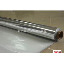 Fibra de vidrio de malla de tela, laminación de fibra de vidrio de aluminio de aluminio, reflectante y plata