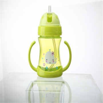 Baby Straw Cup Water Drink Ceramic 230ml