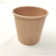 Китайская мануфактура поставляет заказную печатную чашку для кофе из крафт-бумаги 8 12 16 унций с крышкой