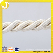 white cotton Rope for Cushion Decor Sofa Decor Living Room Bed Room