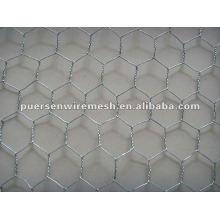 Hochwertiges Weben Sechskant-Drahtgeflecht (verzinkt und PVC)