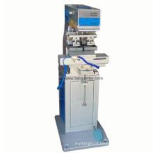 Máquina de impressão de almofada de cor TM-S2-PT 2 para garrafa de vidro
