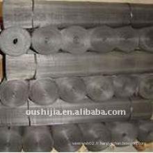 Tissu en acier à faible teneur en carbone en acier noir