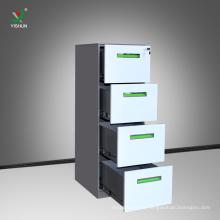 cheap anti- tilt office metal 4 drawer file storage cabinet furniture