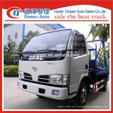 DFAC 4x2 5m3 camión de basura para la venta