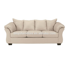upholstered fabric sofa with pillows XYN1731