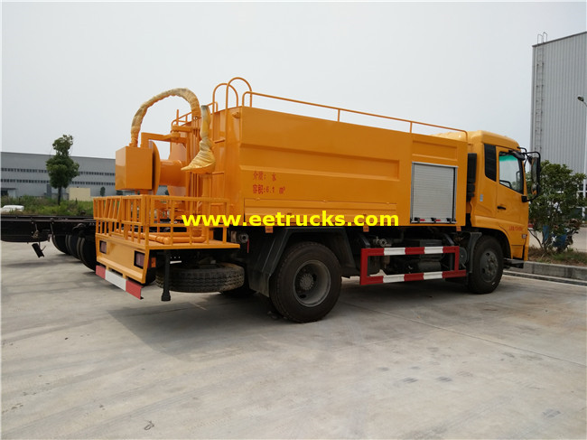 6000L Sewer Suction Tanker Trucks