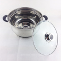 stainless steel cookware tea cooking induction pot