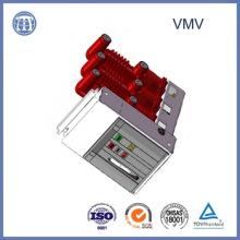 Disjoncteur de vide de la haute qualité 17.5kv-1600A Vmv avec le Polonais incorporé
