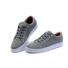 Graue Männer Schuhe Klassische Skateboard Schuhe